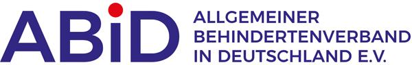 Logo vom ABiD Allgemeiner Behindertenverband in Deutschland e.V.