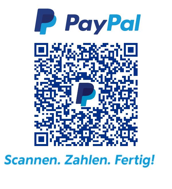 PayPal QR-Code für Spenden