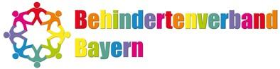 Unser buntes Logo vom Behindertenverband Bayern e.V.