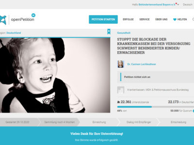Wir unterstützen die Petition der Familie Lechleuthner