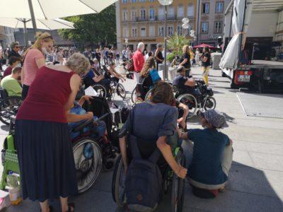 Behindertenprotest-Demos am 7.Mai und 1.August 2021