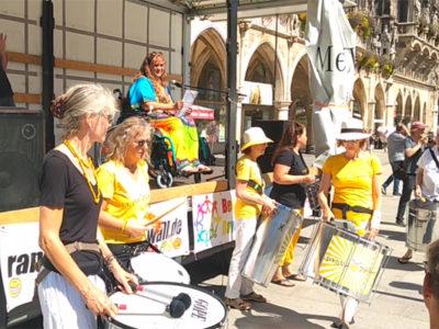 Programm für unseren Behindertenprotest am 7. Mai 2021