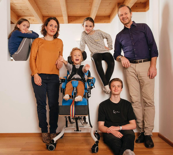 Familienfoto von Familie Lechleuthner
