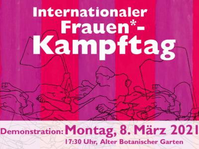 Internationaler Frauenkampftag 8.März