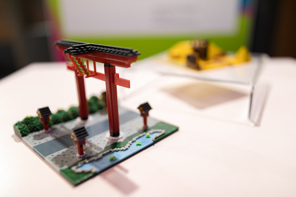 Modell eines Tors, erschaffen mit dem eye-build-it-Creator