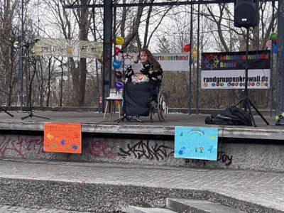 """Demo in Gröbenzell zum Thema """"Inklusion an Schulen"""""""