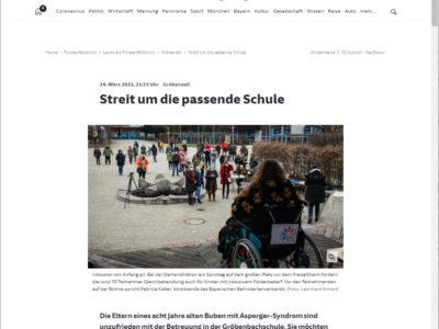 Bericht in der Süddeutschen Zeitung