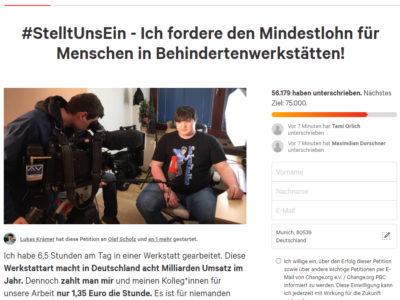 Petition von Lukas Krämer! Schon unterschrieben?