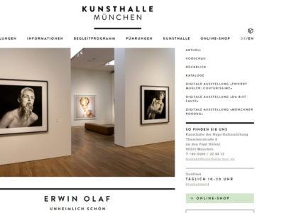 Inklusives Führungsangebot der Kunsthalle München