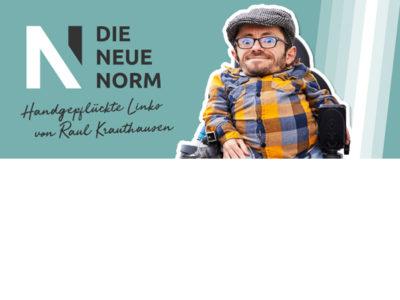 Heute im Newsletter von Raul Krauthausen