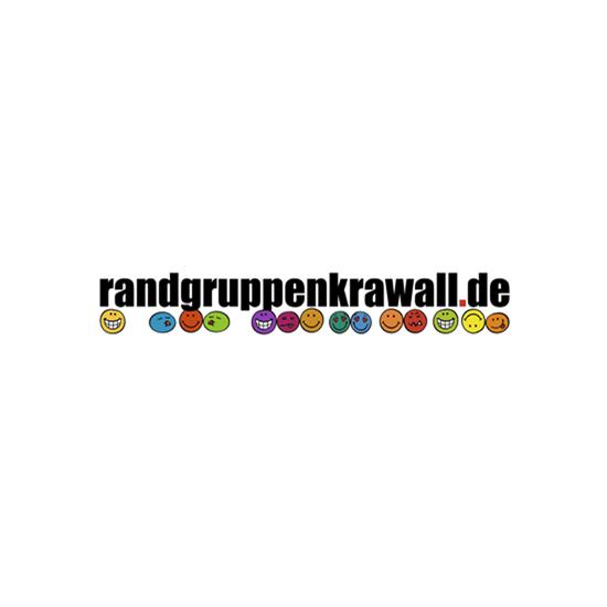 Logo randgruppenkrawall